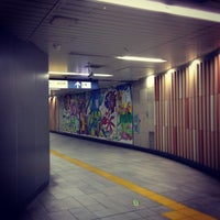 Photo taken at Kita-sando Station (F14) by Masayoshi T. on 1/8/2013