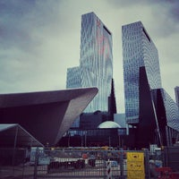 Photo taken at Rotterdam Central Station by Mitch M. on 7/12/2013