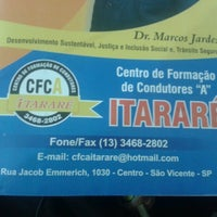 Photo taken at CFC-A Itarare by Acir O. on 3/13/2013