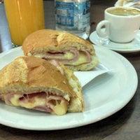 Photo taken at Le Grand Café by Eduardo N. on 1/11/2013