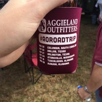 Photo taken at Aggieland Outfitters tailgate by Austin S. on 11/8/2014
