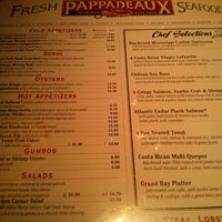 Photo taken at Pappadeaux Seafood Kitchen by Leonard B. on 4/1/2013