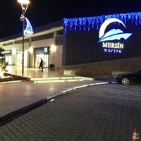 Photo taken at Mersin Marina by Gamze S. on 2/1/2013