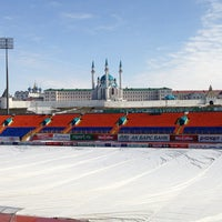 Photo taken at Central Stadium by Евгения И. on 4/4/2013