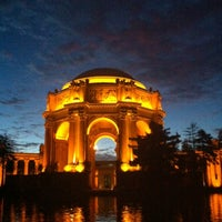 Photo taken at Palace of Fine Arts by Zeynep G. on 12/9/2012