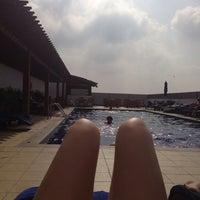 Photo taken at Pool Citymax Bur Dubai Hotel by Maria A. on 1/31/2014