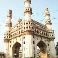 Photo taken at Charminar by Venkat M. on 2/3/2013