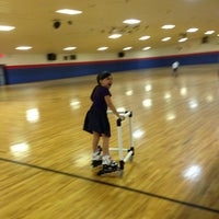 Photo taken at Rainbow Roller Rink by Angela S. on 6/1/2013