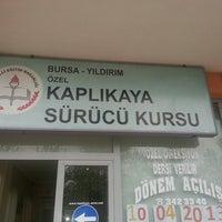 Photo taken at Kaplıkaya sürücü kursu by 💞Gisshemm E. on 4/16/2013