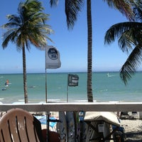 Photo taken at Playa El Yaque by Ismael U. on 2/22/2013