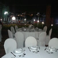 Photo taken at Court Central del Yacht y Golf Club by Pinky O. on 3/6/2013