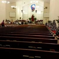Photo taken at First Presbyterian Church of Pompano Beach by Carlos V. on 12/12/2014