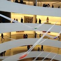 Photo taken at Solomon R Guggenheim Museum by Denise E. on 3/31/2013