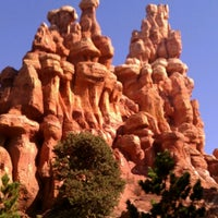 Photo taken at Big Thunder Mountain Railroad by Abran Alejandro Q. on 10/2/2012