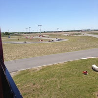 Photo taken at Dallas Karting Complex by Mary R. on 5/4/2013