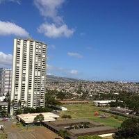 Photo taken at Hyatt Place Waikiki Beach by Chairman T. on 2/18/2013