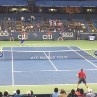 Photo taken at Citi Open Tennis Tournament by Miho I. on 8/5/2015