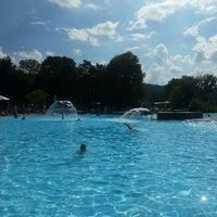 Photo taken at Freibad Aarau by Julija L. on 9/7/2014