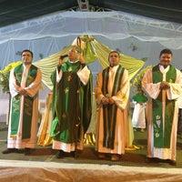 Photo taken at Santuário Nossa Senhora do Perpétuo Socorro by Lanuzza L. on 8/4/2013