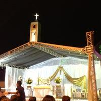 Photo taken at Santuário Nossa Senhora do Perpétuo Socorro by Lanuzza L. on 8/10/2013