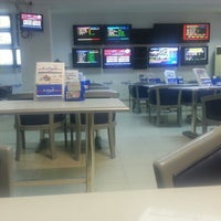 Photo taken at Galaxy Betting Office by İrem B. on 10/14/2013