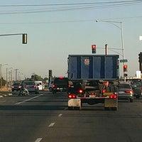 Photo taken at Shaw Ave & Golden State Blvd by John B. on 7/12/2013
