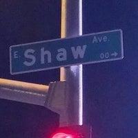 Photo taken at Blackstone Ave & Shaw Ave by John B. on 8/26/2013