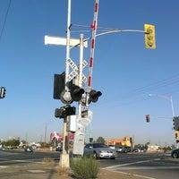 Photo taken at Shaw Ave & Golden State Blvd by John B. on 9/19/2013