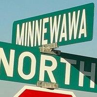 Photo taken at Minnewawa Avenue & North Avenue by John B. on 2/21/2014
