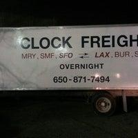Photo taken at Clock Freight by John B. on 2/19/2014
