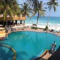 Photo taken at Phangan Bayshore Resort by Vlad M. on 2/7/2013