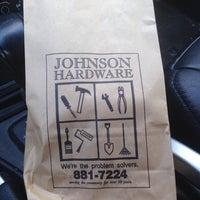 Photo taken at Johnson Hardware by Scott R. on 7/29/2014