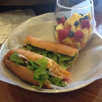 Photo taken at Baguette Magic by Laura E. on 12/13/2013