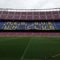 Photo taken at Camp Nou by Dalton A. on 4/26/2013