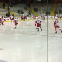 Photo taken at Lynah Rink by Cat J. on 2/16/2013