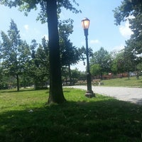 Photo taken at Maria Hernandez Park by Fitz M. on 7/5/2013