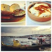 6/12/2013 tarihinde Zelin Z.ziyaretçi tarafından Cunda Sahil Restaurant'de çekilen fotoğraf