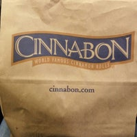Photo taken at Cinnabon by Zeynep K. on 9/15/2014