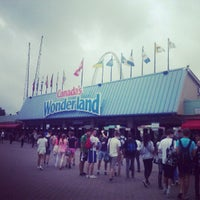 Photo taken at Canada's Wonderland by Hericlis O. on 7/8/2013