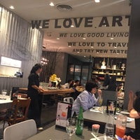 Photo taken at Greyhound Café by Parawee T. on 2/16/2018