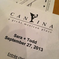 Photo taken at Cantina by Christine W. on 9/28/2013