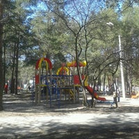 Photo taken at Парк Культуры и Отдыха / Recreation park by Dima U. on 5/12/2013