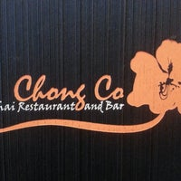Photo taken at Chong Co Thai Restaurant & Bar by Chris H. on 10/18/2013