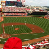 Photo taken at Great American Ball Park by Nick S. on 6/15/2013