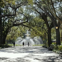 Photo taken at Forsyth Park Cafe by Mike C. on 10/13/2016