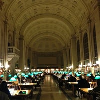 Photo taken at Boston Public Library by Andre S. on 11/27/2012