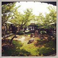 Photo taken at Kennin-ji Temple by Yusuke H. on 8/16/2013