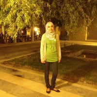 Photo taken at King Hussein Park by Zina Z. on 7/21/2013