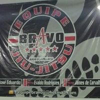 Photo taken at Bravo Jiu-Jitsu by Thiago S. on 2/15/2013