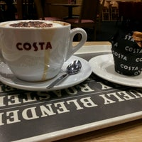 Photo taken at Costa Coffee by Michael D. on 9/28/2015